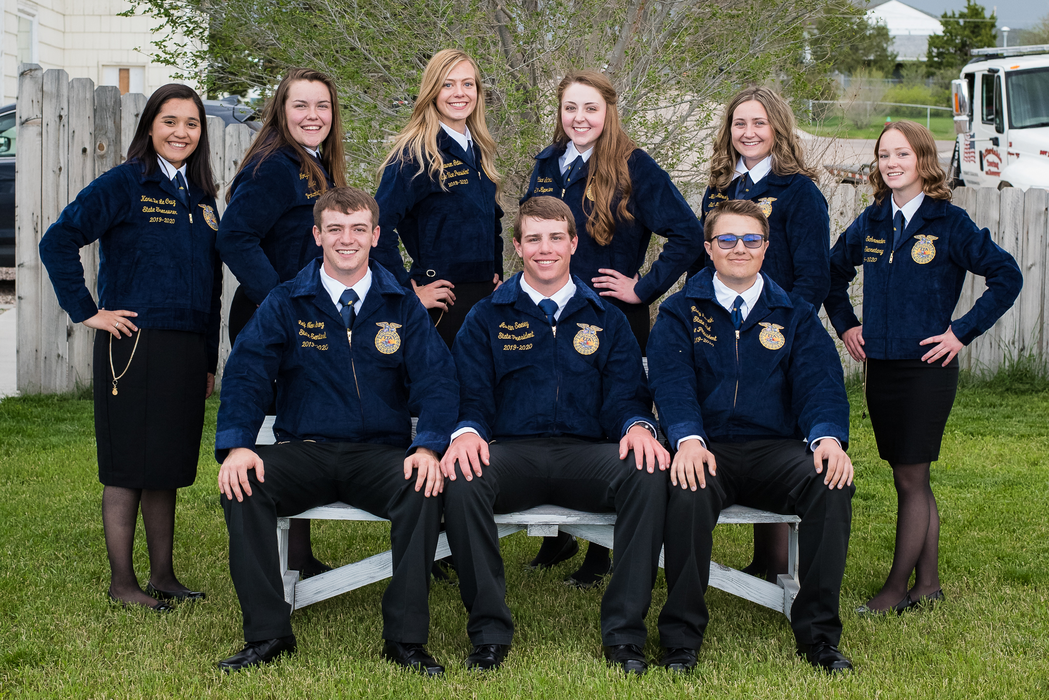 2019-2020 Wyoming FFA State Officers